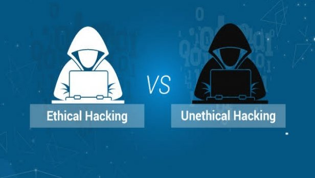 Difference between Ethical Hacking and Unethical Hacking