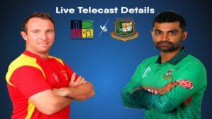 Bangladesh tour of Zimbabwe